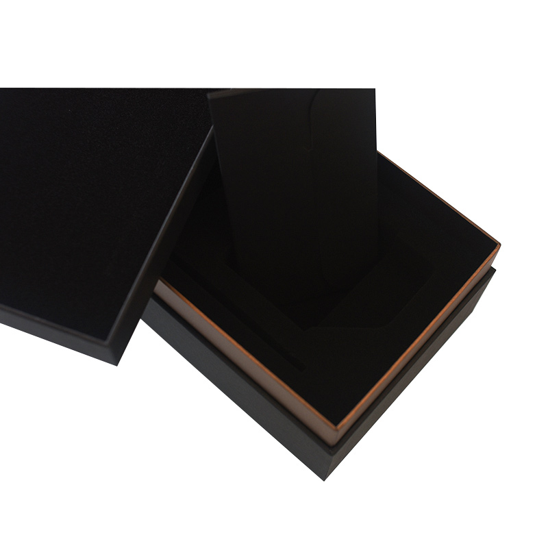 OEM Custom Design Customized Luxury Big Black Cardboard Carton Manufacturer China Tea Box Packaging